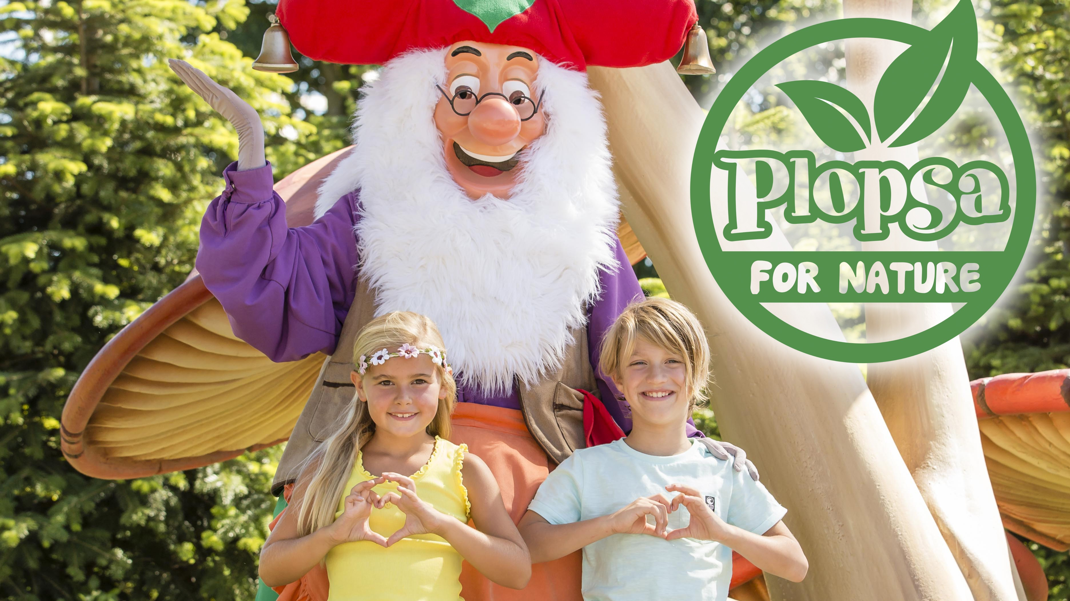 Plopsaland Premium Partner Plopsa for Nature