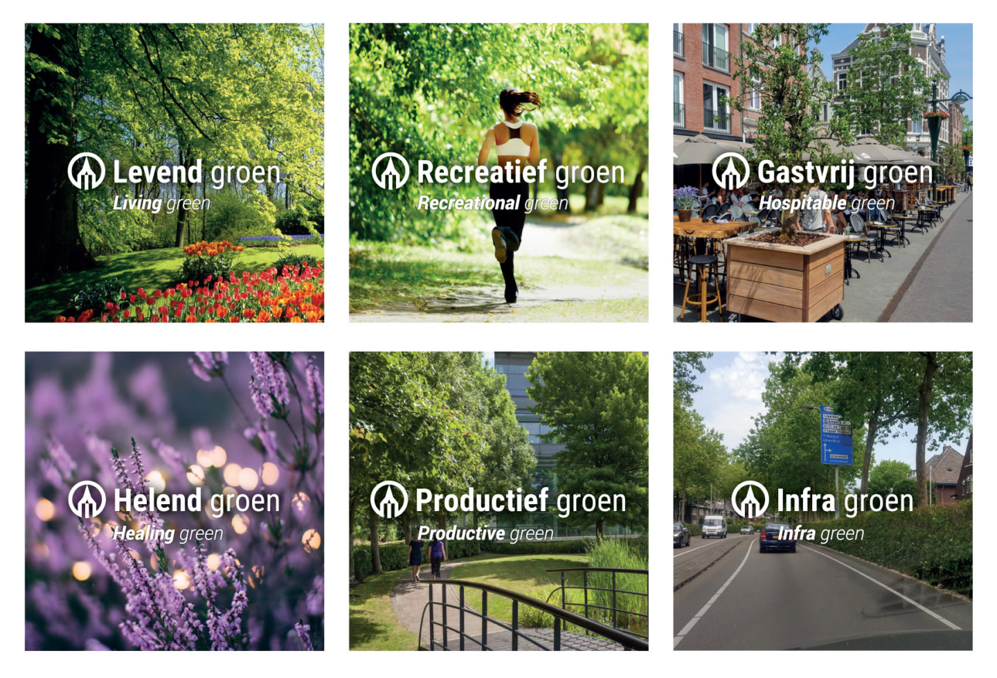 M. van den Oever | Green Life™ Program: The 6 new and sustainable green environments of tomorrow